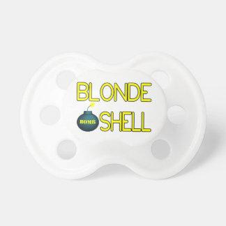 Blonde Bombe Hottie Schnuller