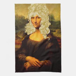 Blonde Mona Lisa Küchentuch