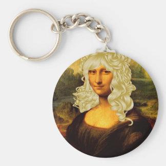 Blonde Mona Lisa Schlüsselband