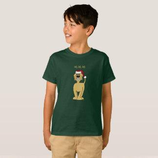 blonder Doodle Santa T-Shirt