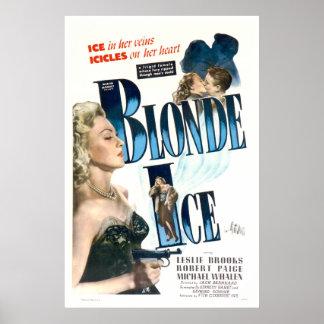 Blondes Eis - Vintages Film-Plakat 1948