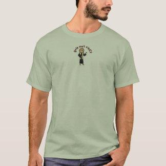 Blondes Prediger-Mädchen T-Shirt