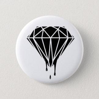 Blood Diamond Runder Button 5,7 Cm