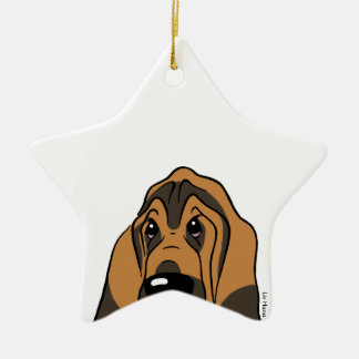 Bloodhound  – Simply the best! Keramik Ornament