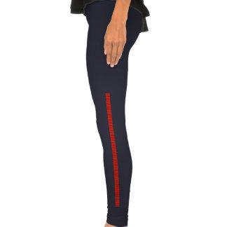 Bloodstripes Rot Legging-Strumpfhose