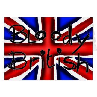 Bloody Briten Karte
