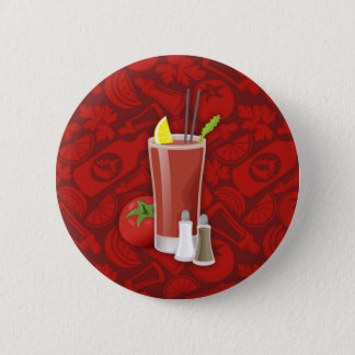 Bloody Mary Runder Button 5,7 Cm