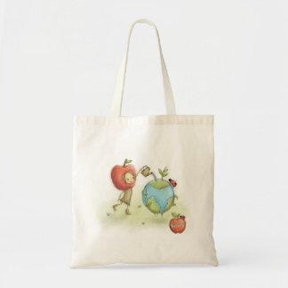 Bloom'd - Umwelt - Apple stellen - Taschentasche Budget Stoffbeutel