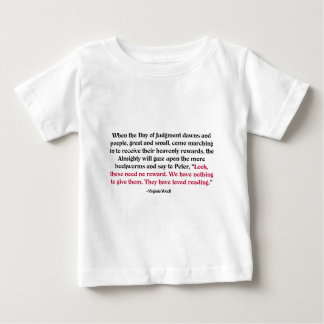 Bloße Bücherwürmer: Sie haben das Ablesen geliebt Baby T-shirt