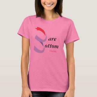 Bloßer unterer T - Shirt