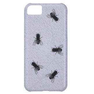 Blowflies auf der Wand (Singrün-Gips) iPhone 5C Hülle