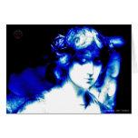 Blue Angel Card by HOUSEOFHOLY Grußkarte