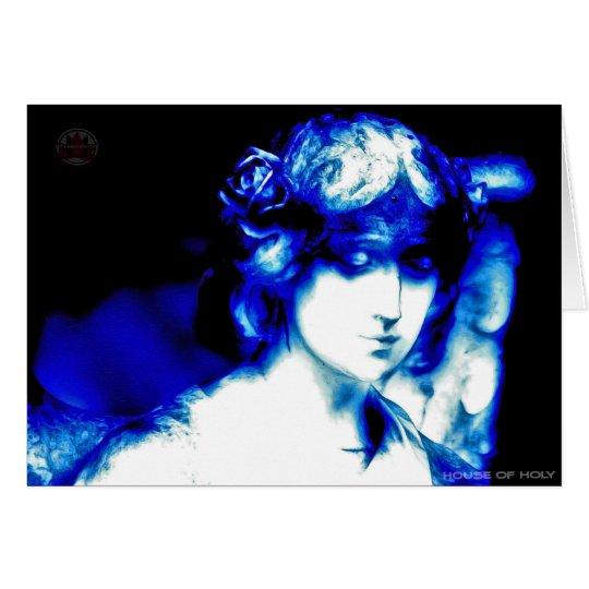 Blue Angel Card by HOUSEOFHOLY Karte
