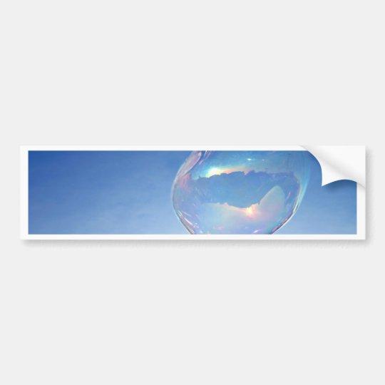 Blue Bubble Autoaufkleber