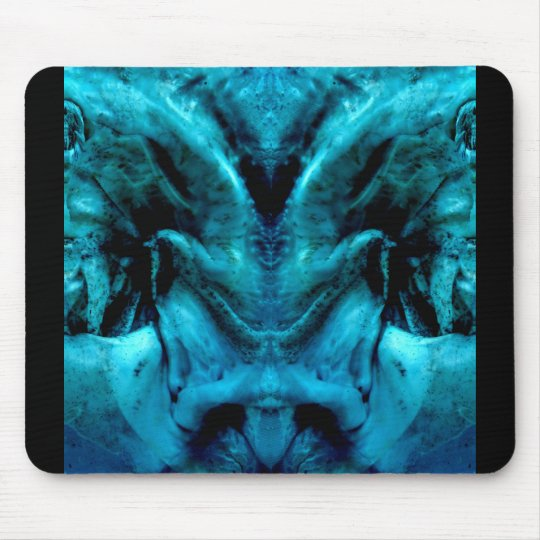 blue dämon mousepad