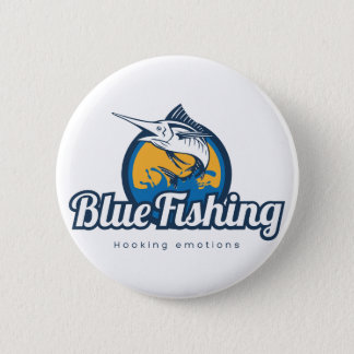 Blue Fishing Products Runder Button 5,1 Cm