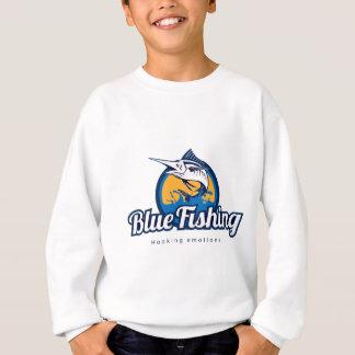 Blue Fishing Sweatshirt