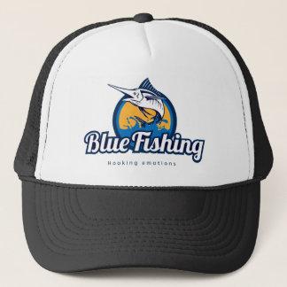 Blue Fishing Truckerkappe