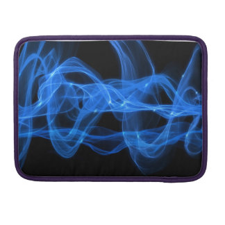 Blue Flame Sleeve Für MacBook Pro