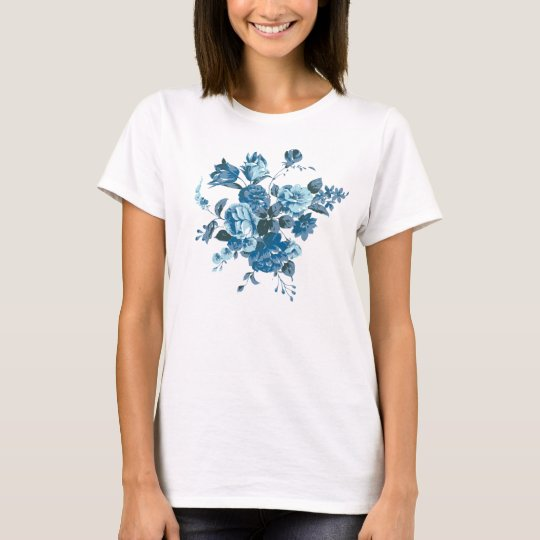 blue flowers bouquet T-Shirt