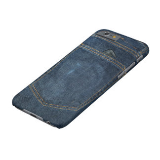 Blue Jeans-Denim-Tasche Barely There iPhone 6 Hülle