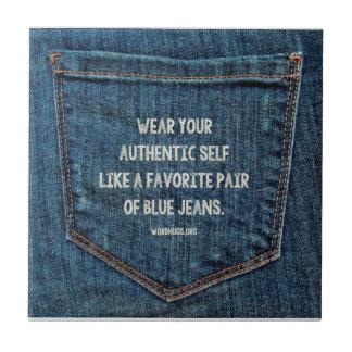 Blue Jeans Fliese