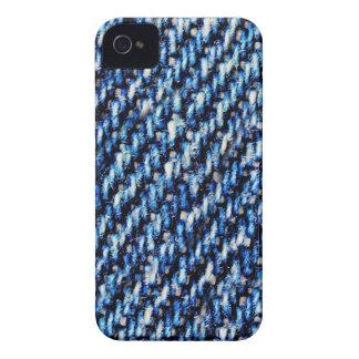 Blue Jeansbeschaffenheit iPhone 4 Cover