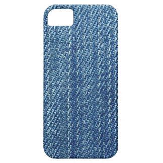 Blue Jeansbeschaffenheit iPhone 5 Schutzhülle