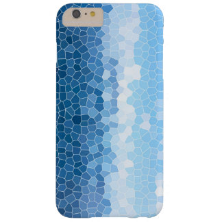 Blue Mosaic Barely There iPhone 6 Plus Hülle