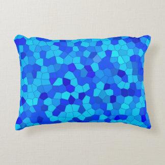 Blue Mosaic - Pillow 100% cotton, hypoallergen Deko Kissen