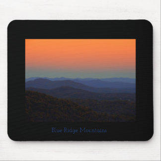 Blue Ridge Mountains - gleich nach Sonnenuntergang Mauspads
