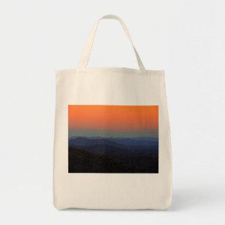 Blue Ridge Mountains - gleich nach Sonnenuntergang Tragetasche