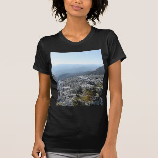 Blue Ridge Mountains-Winter T-Shirt