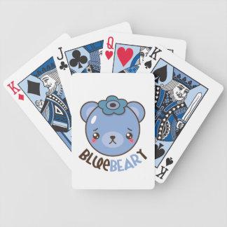 BlueBeary Blaubeerbär Bicycle Spielkarten