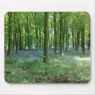 Bluebell-Waldmausunterlage Mauspads