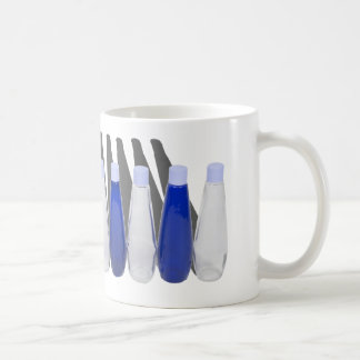 BlueClearBottles030111 Kaffeetasse