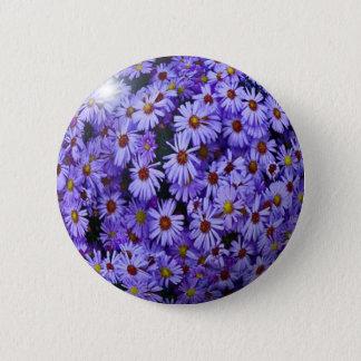BlueFlower Runder Button 5,7 Cm