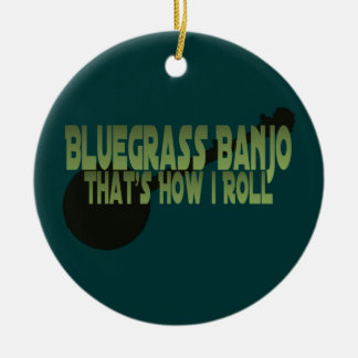 Bluegrass-Banjo. Das ist, wie ich rolle Keramik Ornament