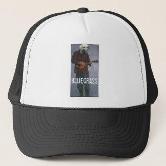 """""""Bluegrass-"""" - Hund mit Truckerkappe"""
