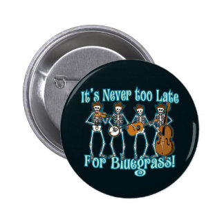 Bluegrass jenseits runder button 5,7 cm
