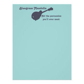 Bluegrass-Mandoline - das ganzes Schlagzeug, das Flyer