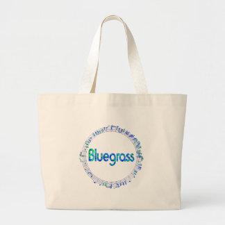 Bluegrass-Musik Jumbo Stoffbeutel