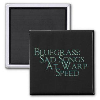 Bluegrass: Traurige Lieder mit Verzerrungs-Geschwi Quadratischer Magnet