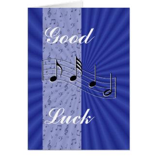BlueMusicnote Streifen-fertigen jede mögliche Grußkarte