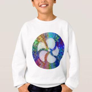 BlueRay Regenbogen BlumenChakra Sweatshirt