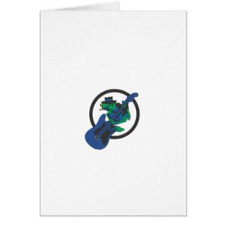 Blues-Frosch Karte