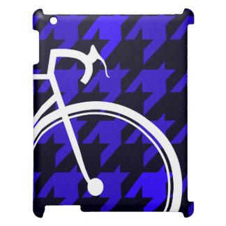 Blues für Fahrräder iPad Hülle
