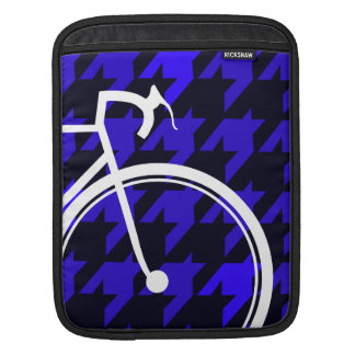 Blues für Fahrräder iPad Sleeve