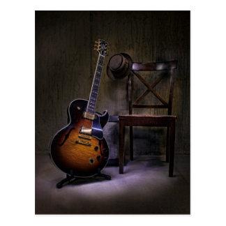 Blues-Gitarre nehmen 2 Postkarte