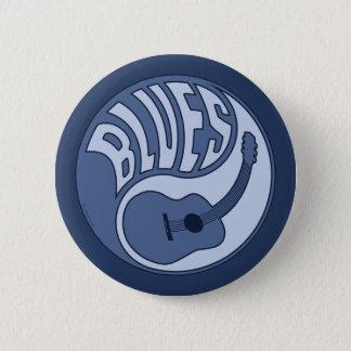 Blues-Gitarre Yin Knopf Runder Button 5,1 Cm